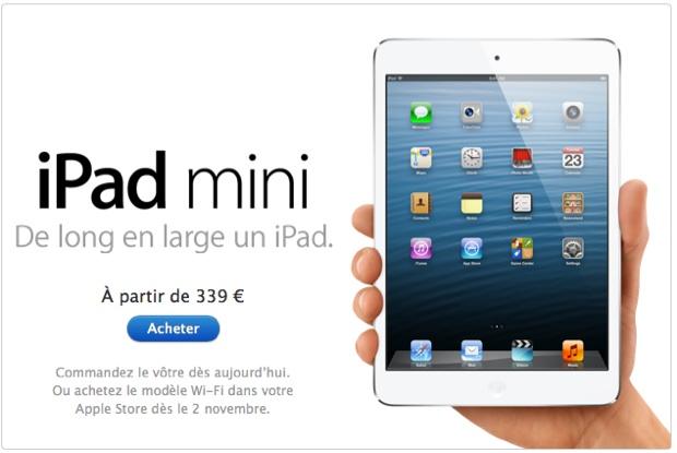 modèle ipad mini