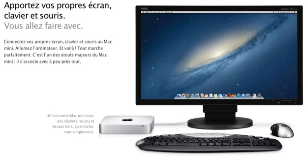 t moignages imac vs mac mini le petit ordinateur d. Black Bedroom Furniture Sets. Home Design Ideas