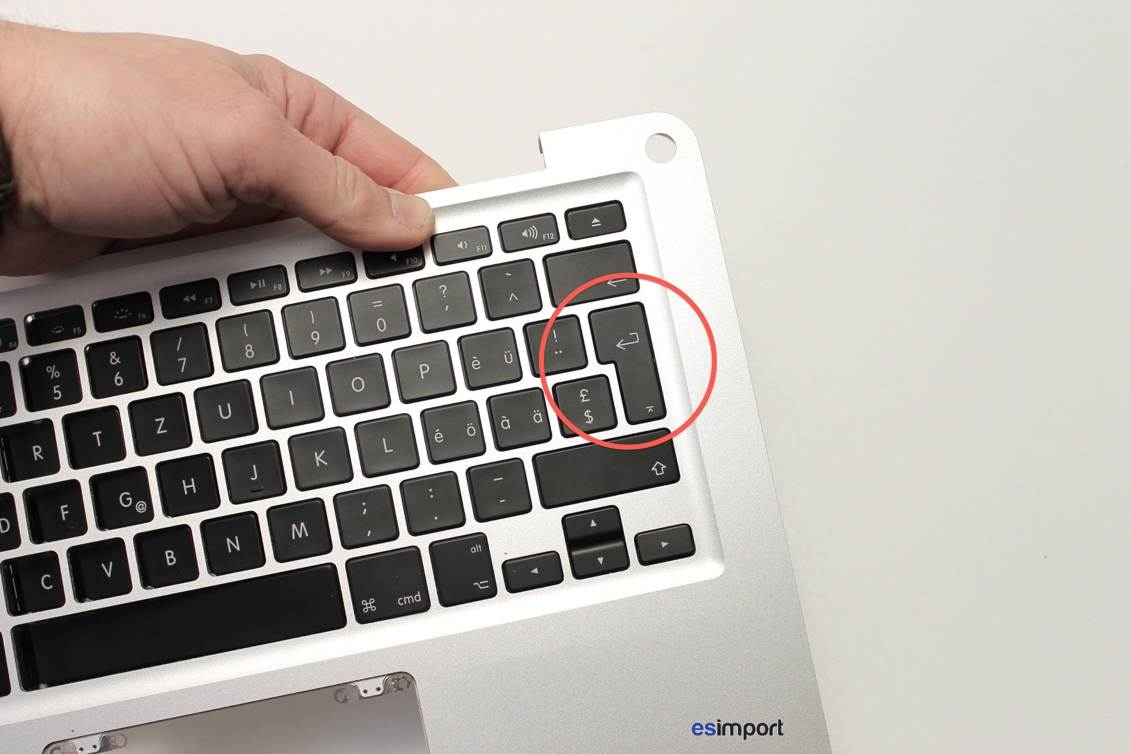 matCAriel  pas CA changer la langue du clavier dEun macbook