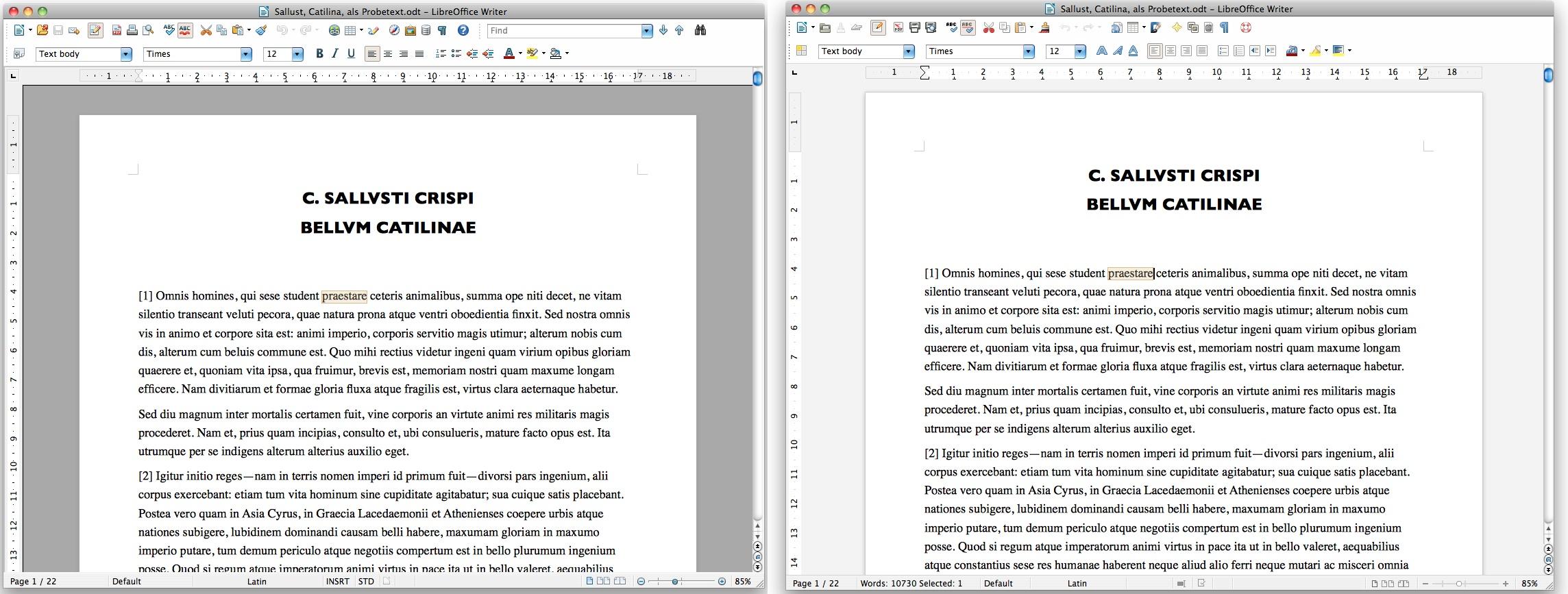 Libreoffice 3 6 revoit l g rement son interface macgeneration - Libre office pour windows ...