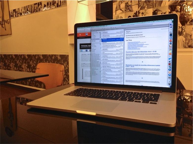 test du macbook pro 15 retina core i7 2 6 ghz et 1 to. Black Bedroom Furniture Sets. Home Design Ideas