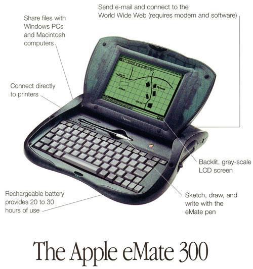 Le premier appareil hybride d'Apple avait déjà un puce ARM