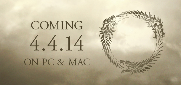 The Elder Scrolls Online sortira le 4 avril 2014 sur Mac et PC...