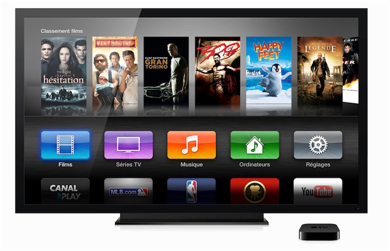 L'interface de l'Apple TV n'a pas encore pris le pli d'iOS 7