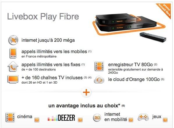 orange la livebox play est en vente macgeneration. Black Bedroom Furniture Sets. Home Design Ideas