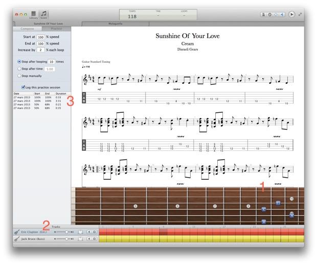 Tabular : (pas encore) une alternative à Guitar Pro