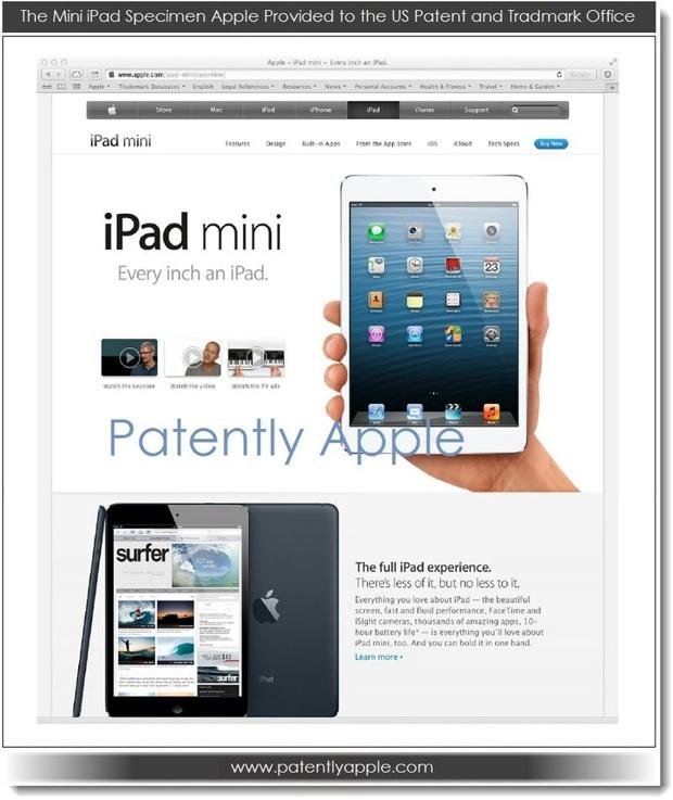 """""""iPad mini"""" : Apple essuie un refus pour déposer la marque aux Etats-unis"""