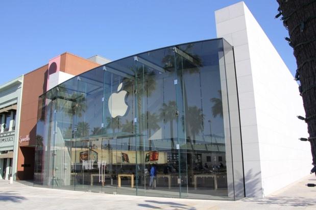 Apple store une mise jour dans leur architecture for Maison avec toit en verre