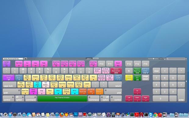 commande clavier visuel