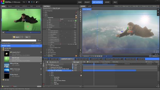 Hitfilm 2 ultimate bient t sur mac macgeneration for Logiciel montage 3d