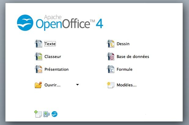 Apache openoffice 4 est disponible macgeneration - Open office en francais gratuit ...
