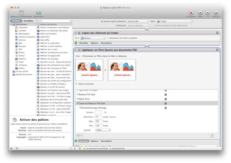 modifier pdf mac apercu