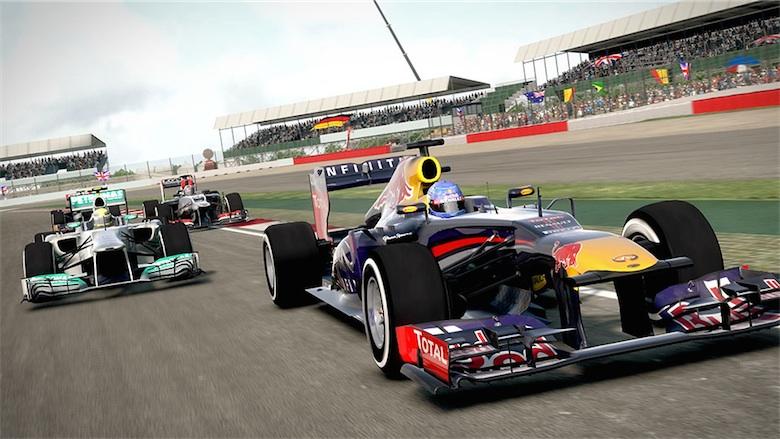F1 2013, le seul moyen de voir une Red Bull hors d'un garage