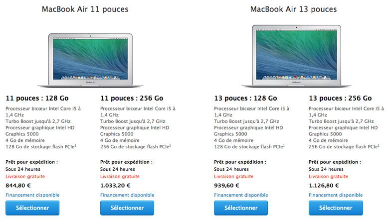 materiel  macbook air des tarifs plus interessants sur lapple store education